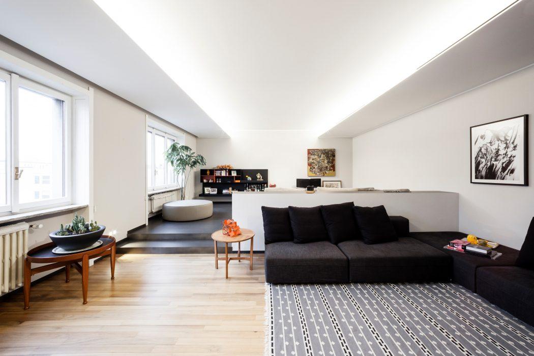 Apartment in Milan by 23bassi Studio di Architettura