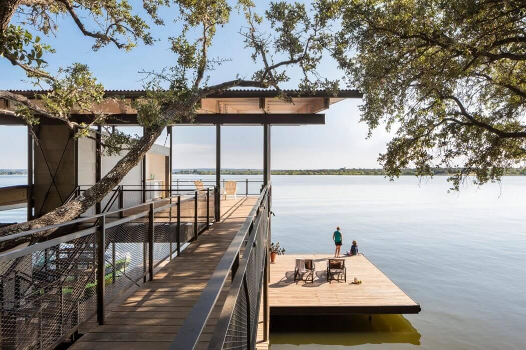 Blue Lake Retreat by Lake Flato Architects