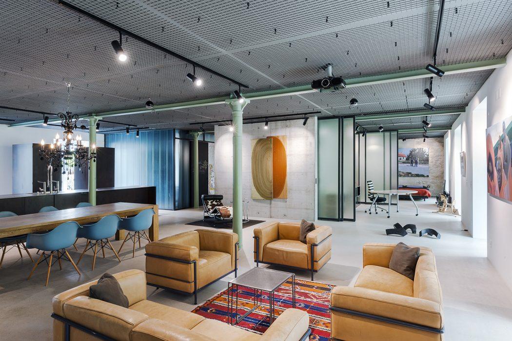 Loft in Zurich by Arcs Architekten