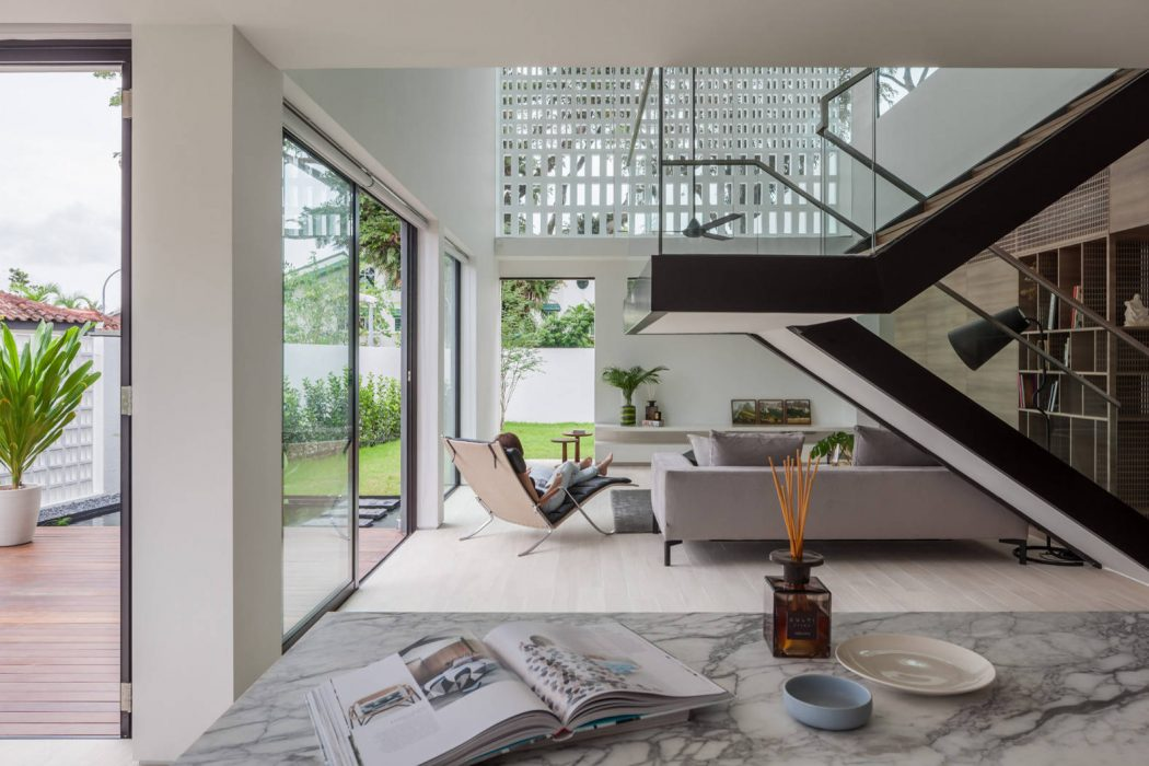 Through House by Materium