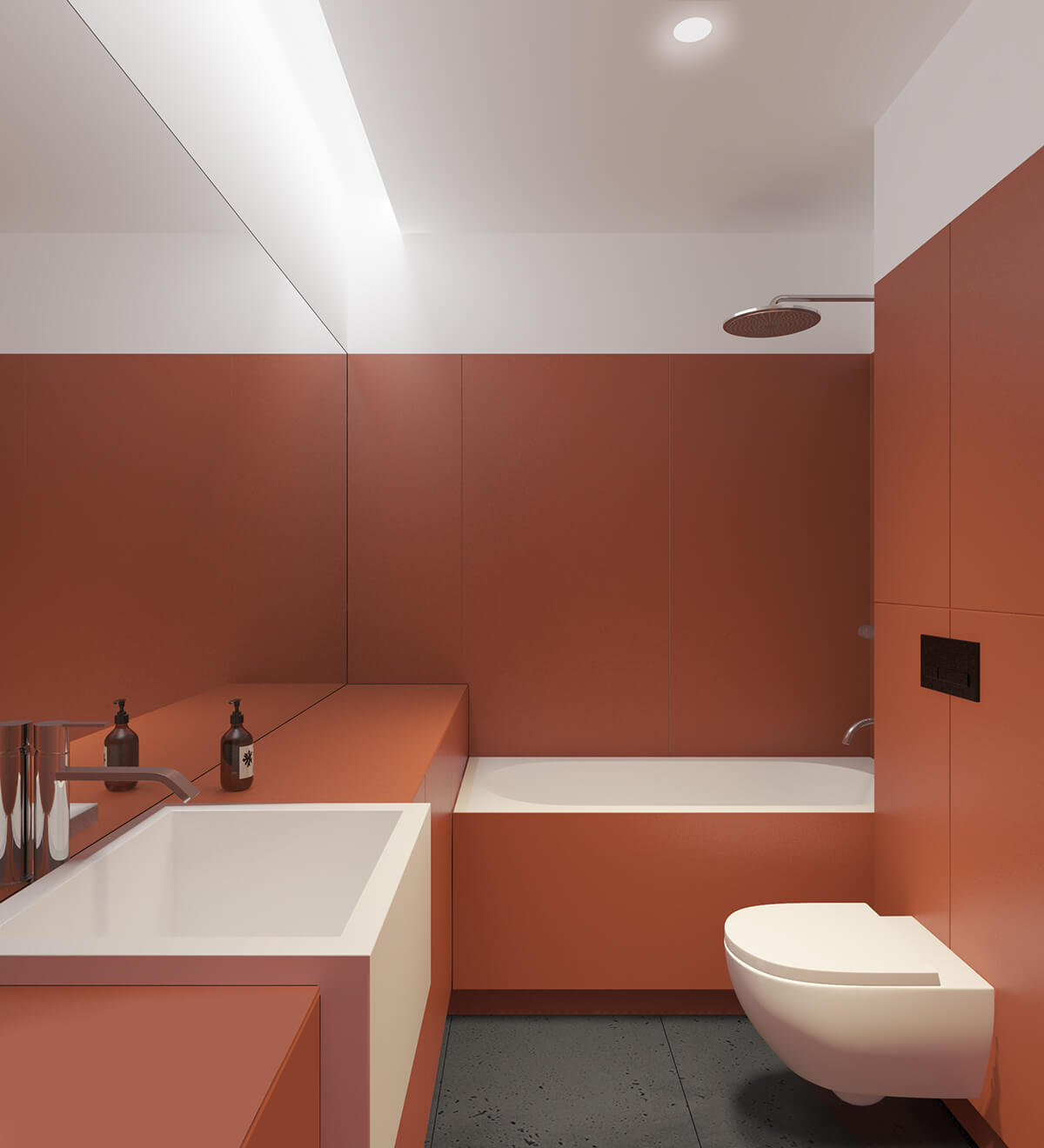 Apartment in Kiev by Emil Dervish and Iya Turabelidze