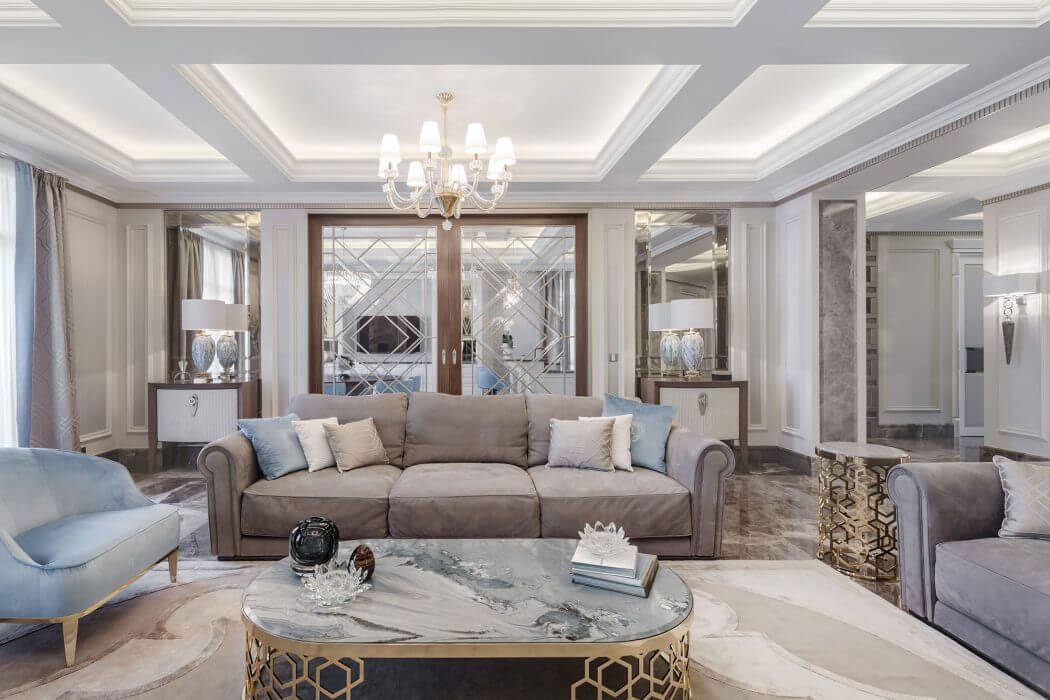 Elegant Luxury by NG-studio Interior Design