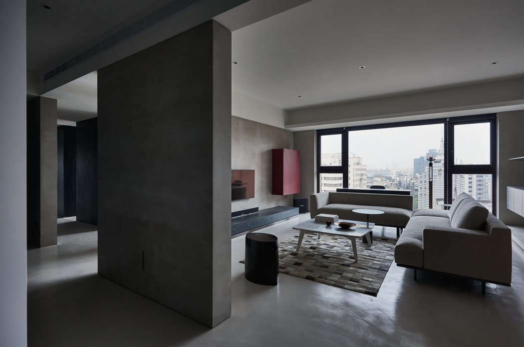 Boundary apartment by wei yi international interior design - International interior designers ...