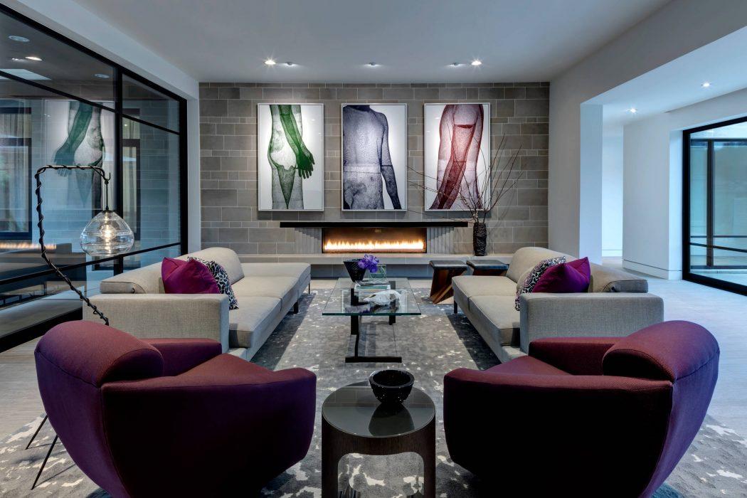 Home in Preston Hollow by Linda Fritschy Interior Design