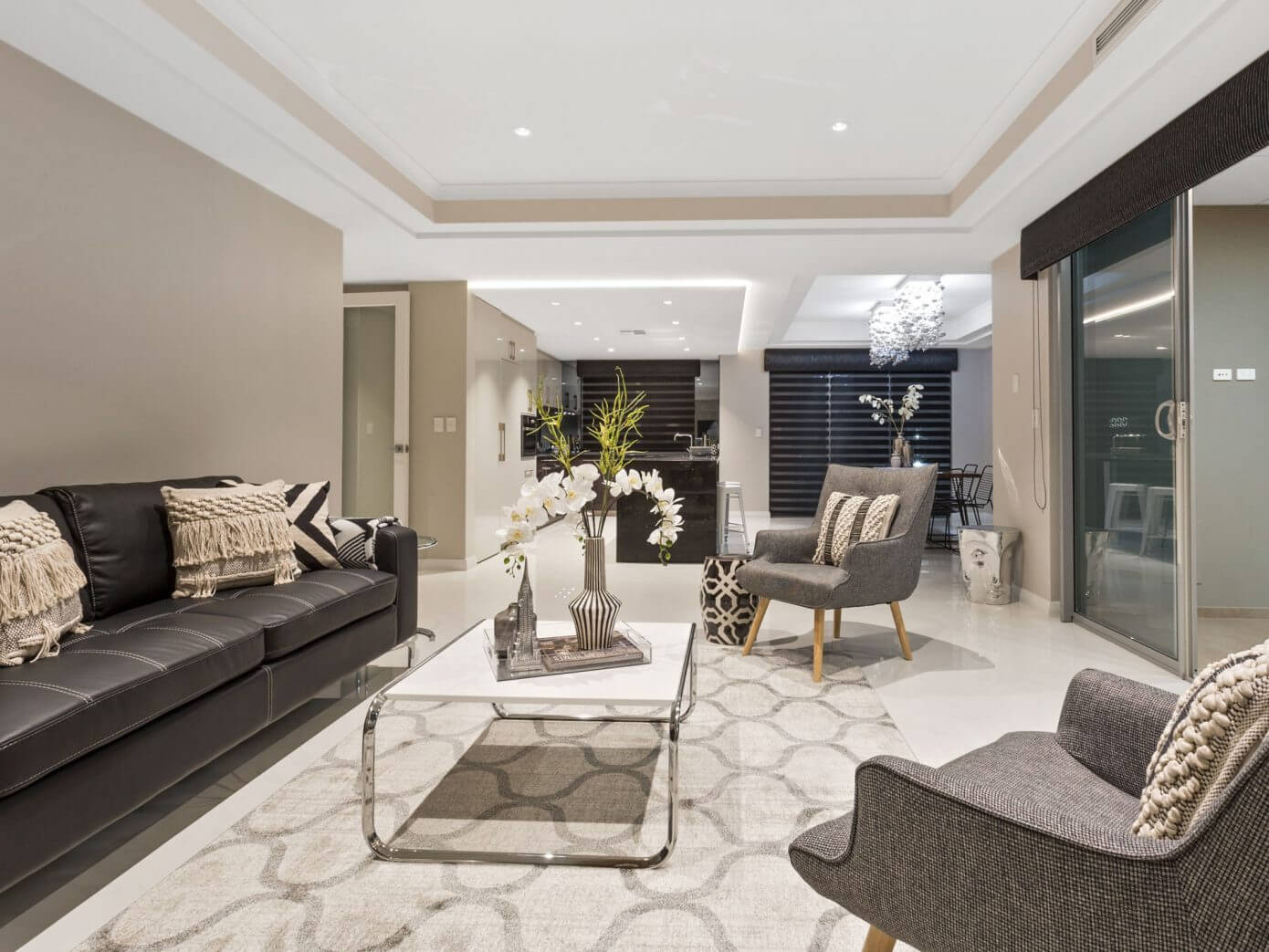 contemporary house by mr home staging design homeadore - Home Staging Design