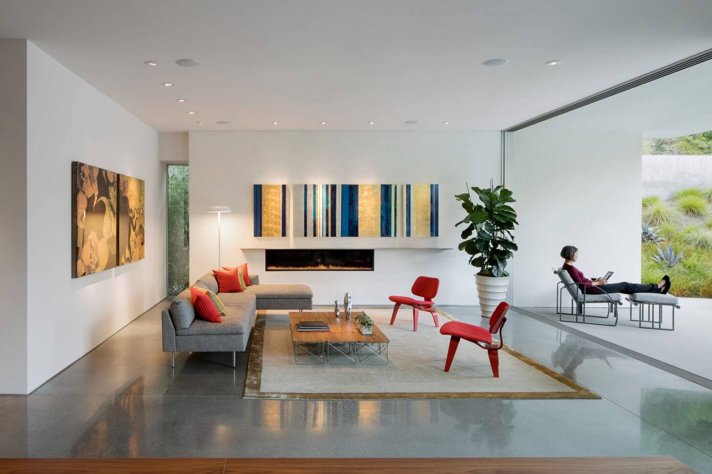 Coldwater canyon residence by ehrlich yanai rhee chaney - Limposante residence contemporaine de ehrlich architects ...