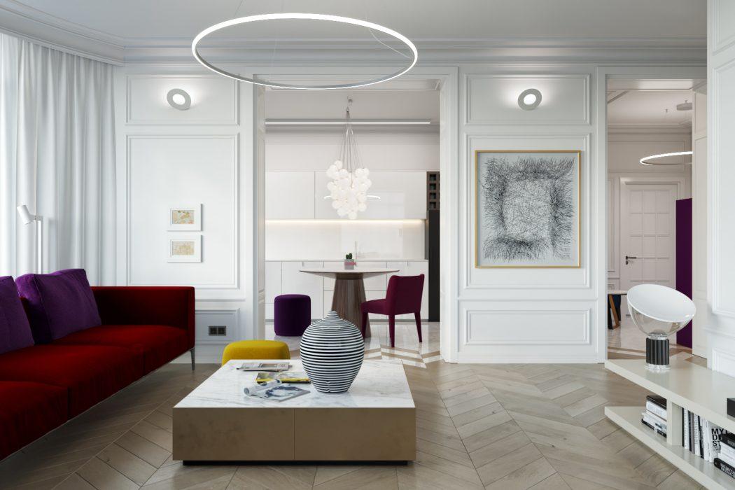 Modern Apartment by Azovskiy&Pahomova Architects
