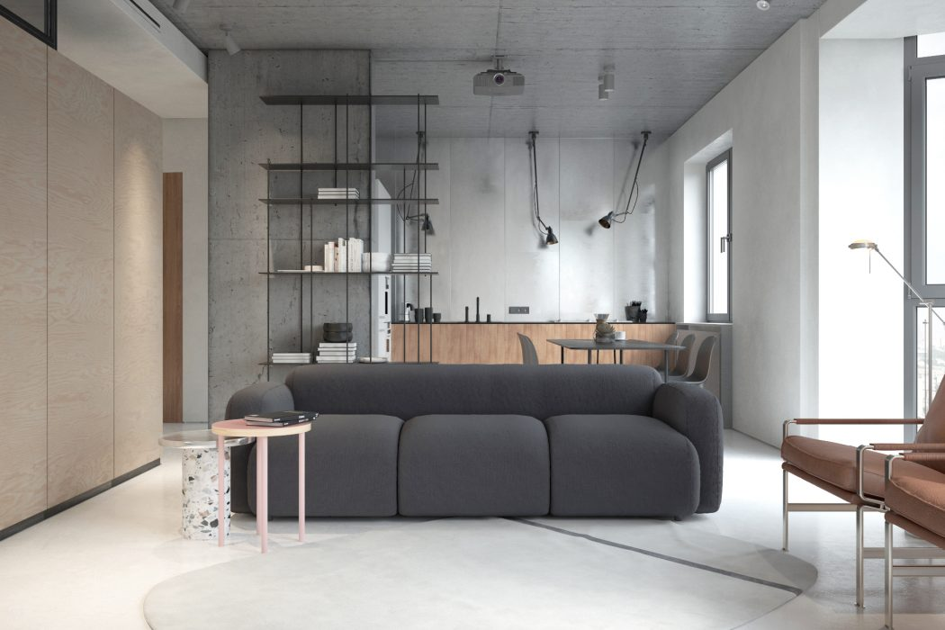 PP4 apartment by KDVA Architects