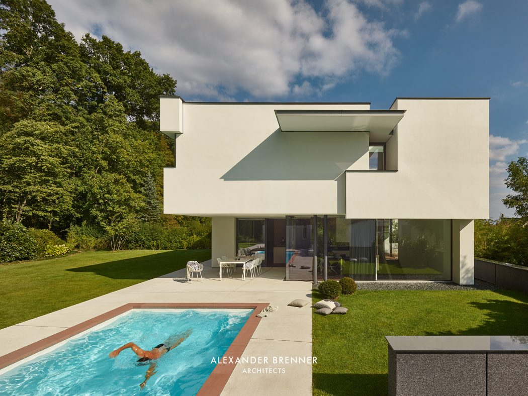 House in Stuttgart  by Alexander Brenner Architects
