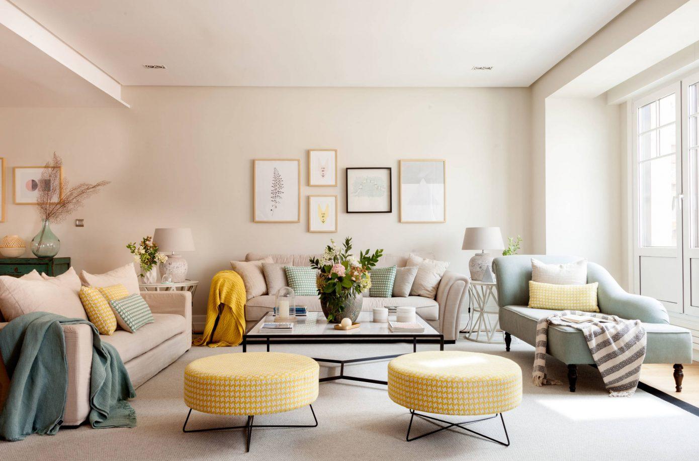 Inspiring apartment by natalia zubizarreta interiorismo - Interiorismo salones ...