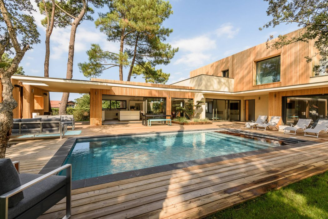 Villa Hossegor by Estaun Architectures