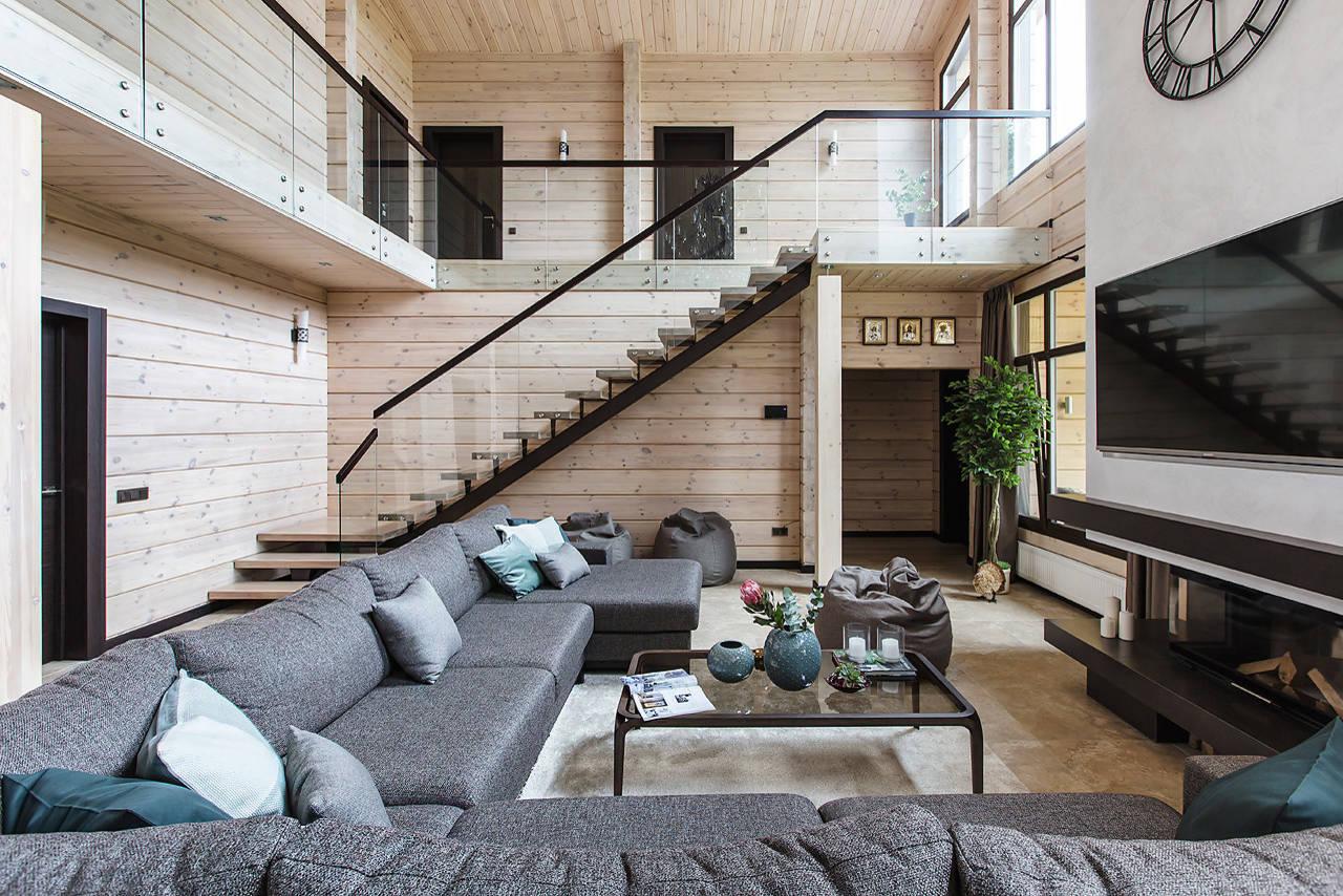 Modern Cottage By Noviy Dom Homeadore