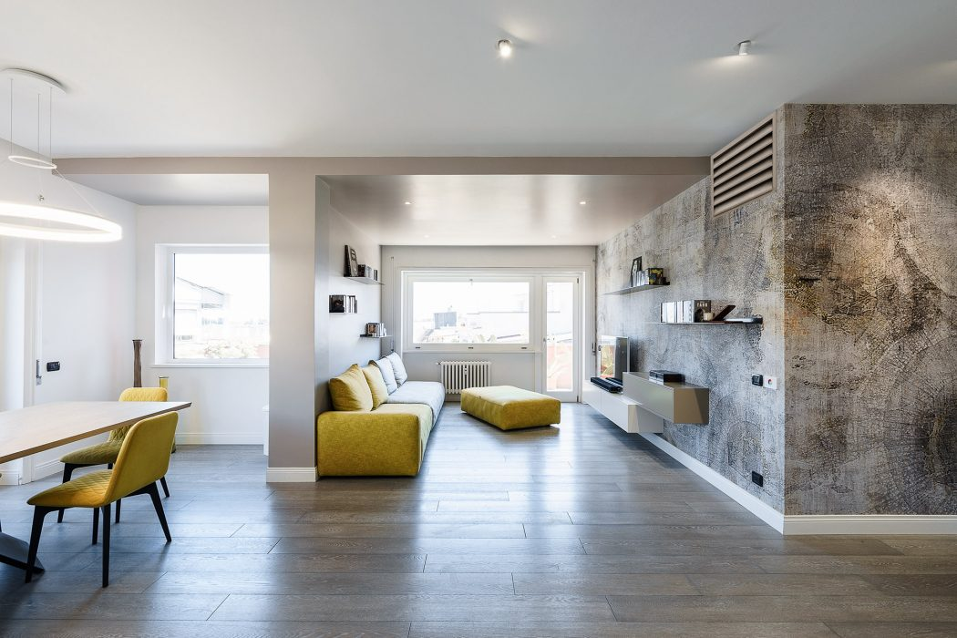 Apartment in Rome by Brain Factory