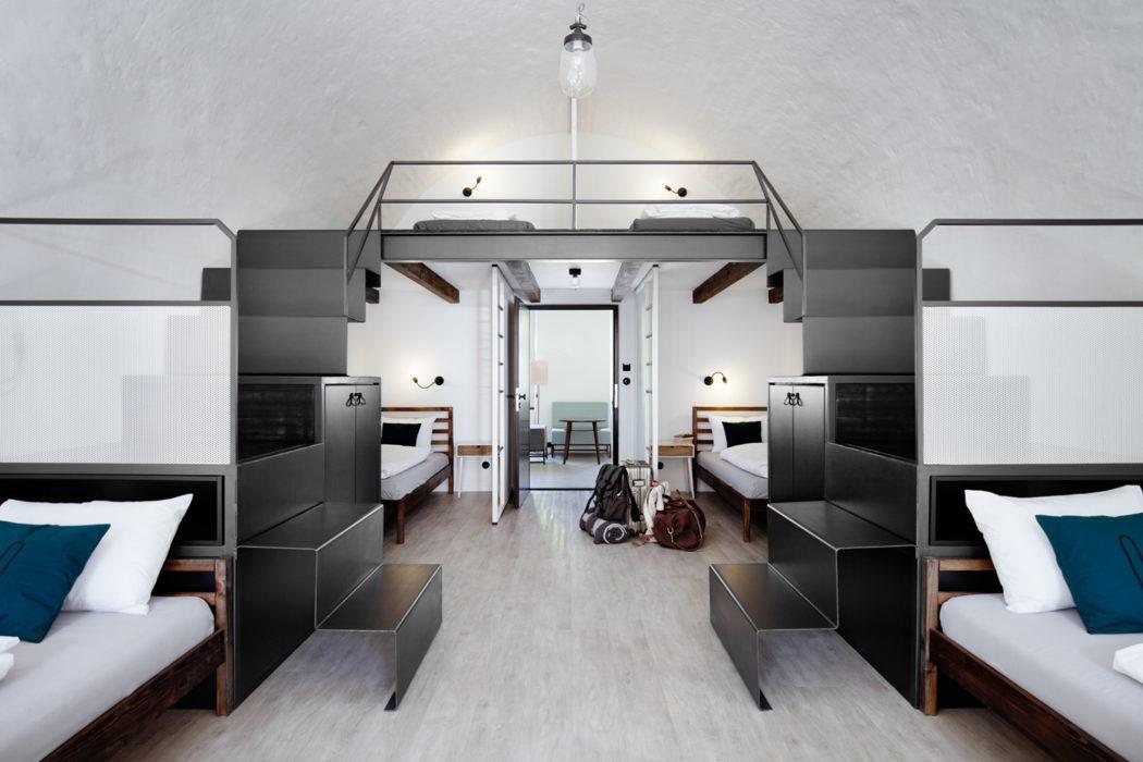 Hostel in Olomouc by Denisa Strmiskova Studio