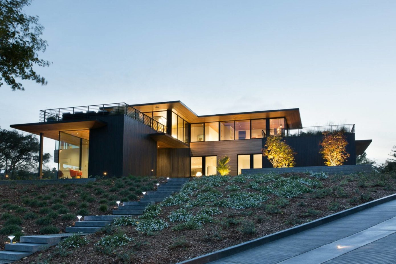 002 House Mill Valley Michael Rex Architects Homeadore