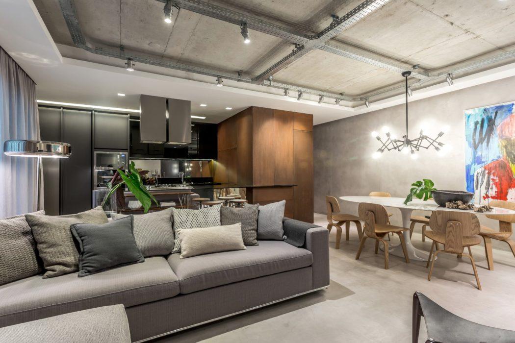 Apartment in Curitiba by Belotto Scopel Tanaka Arquitetura