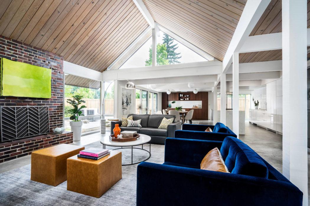 Midcentury Home by Garrison Hullinger Interior Design