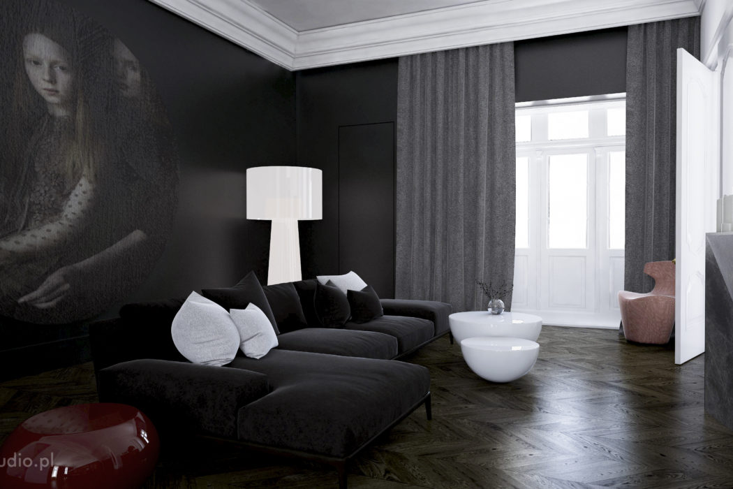 Apartment in Warsaw by Fuss Studio