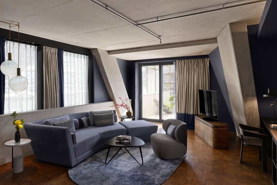 Nobu Hotel Shoreditch by Ben Adams Architects and Studio Mica and Studio