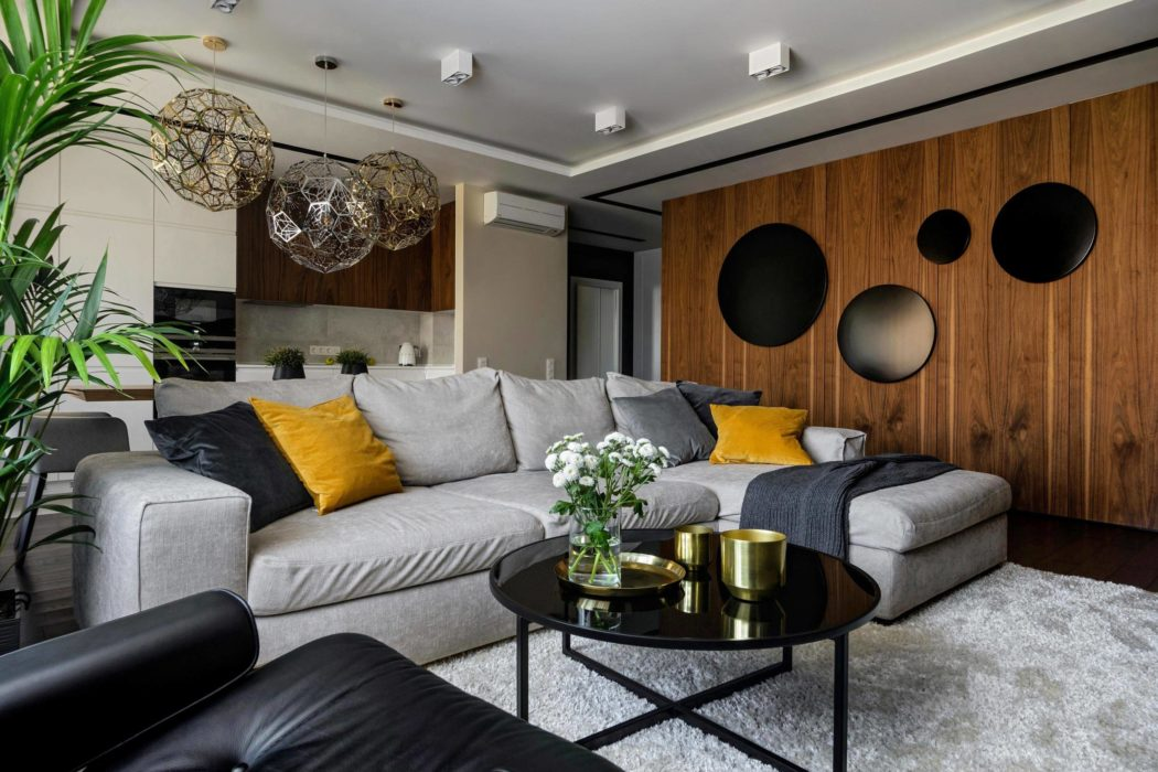 Apartment in Novosibirsk by ART-UGOL
