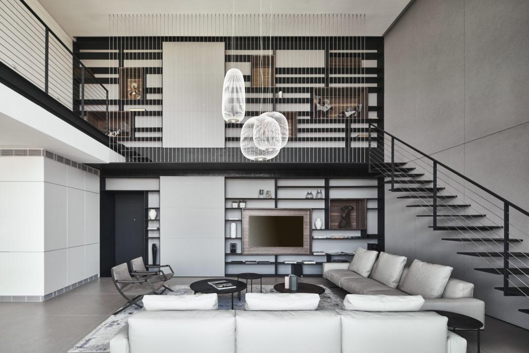 Duplex Apartment by Pitsou Kedem Architects