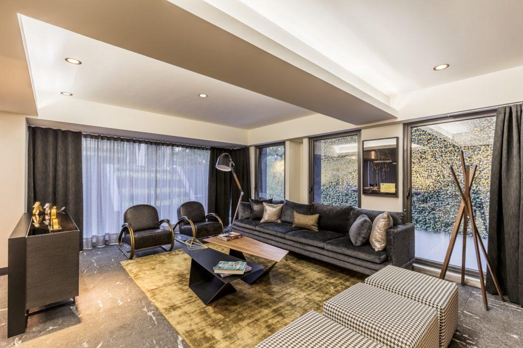 DC 722 Apartment by Almazan y Arquitectos Asociados