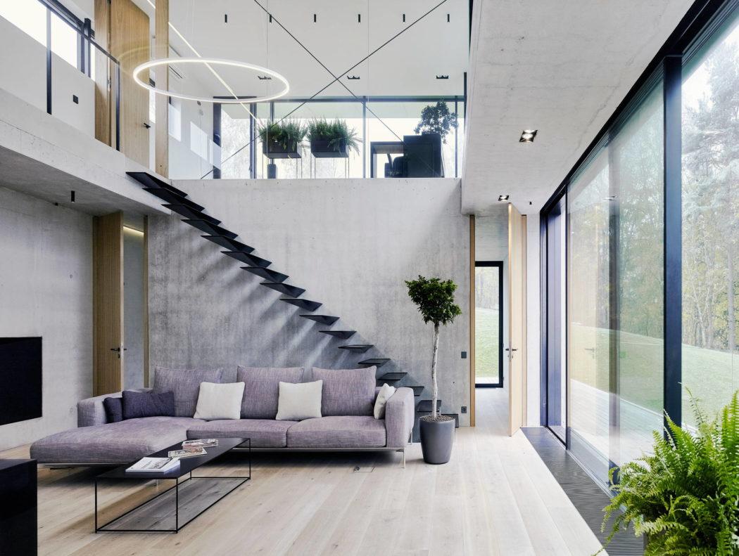 Villa Cesis by Schüco Sverige