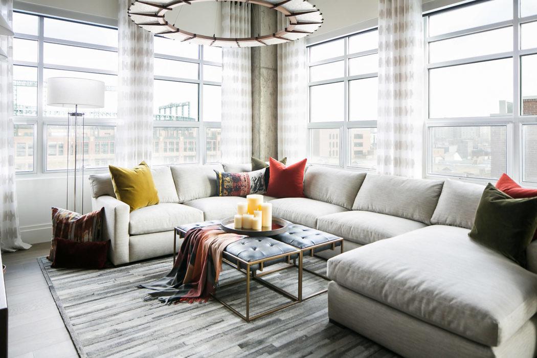Denver Loft Style Living by Robeson Design