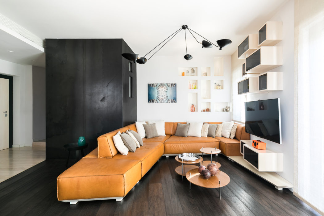 Apartment in Rome by Franz Moscati