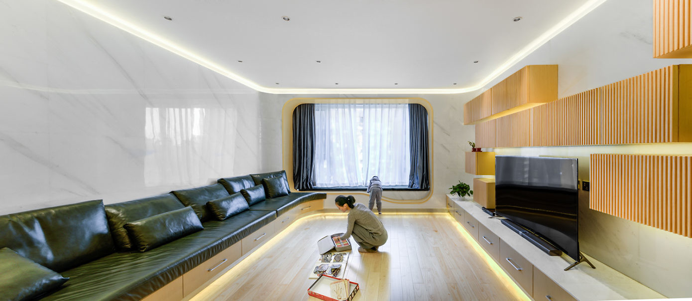 Wang's Residence by Atelier Alter