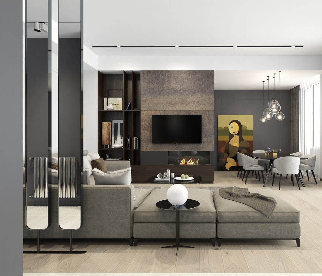 Residential Apartment by Tako Kenkishvili