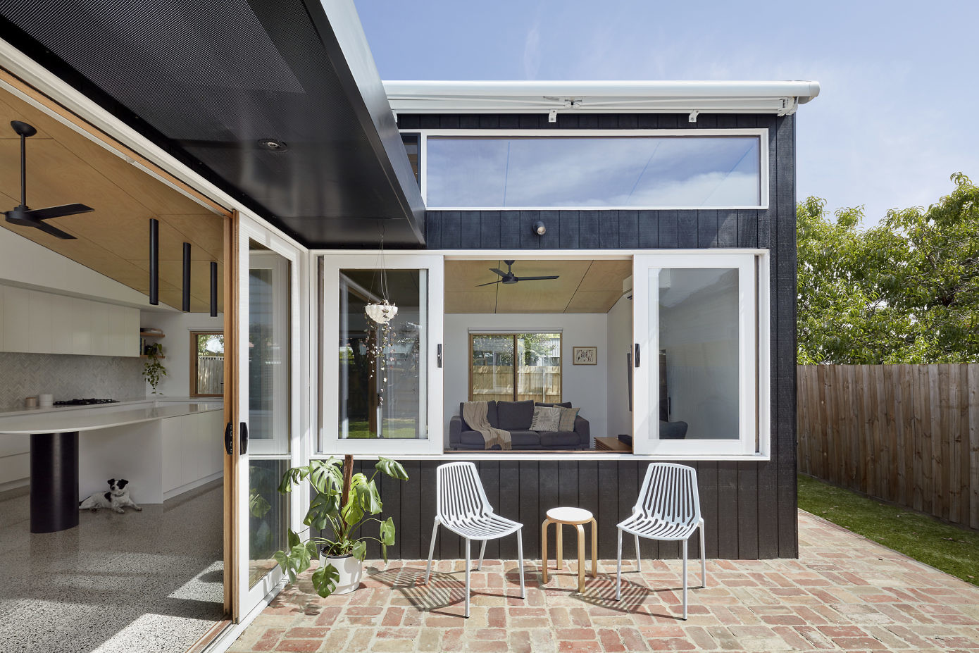 House Lean-2 by Ben Callery Architects