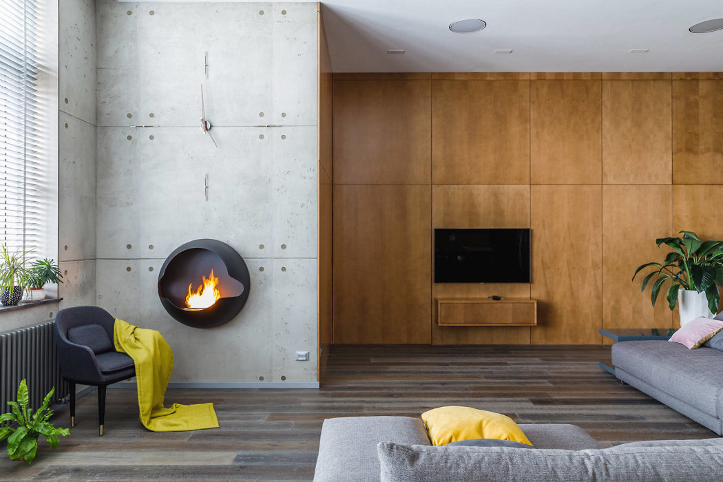 Modern Apartment by Andrei Popov