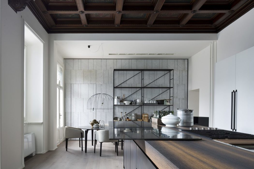 Apartment in Monza by Boffi