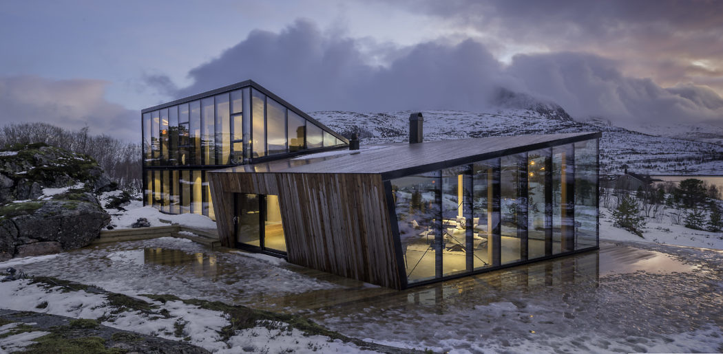 Efjord Retreat by Stinessen Arkitektur
