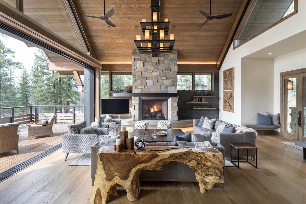 Modern Lodge by Julie Johnson-Holland