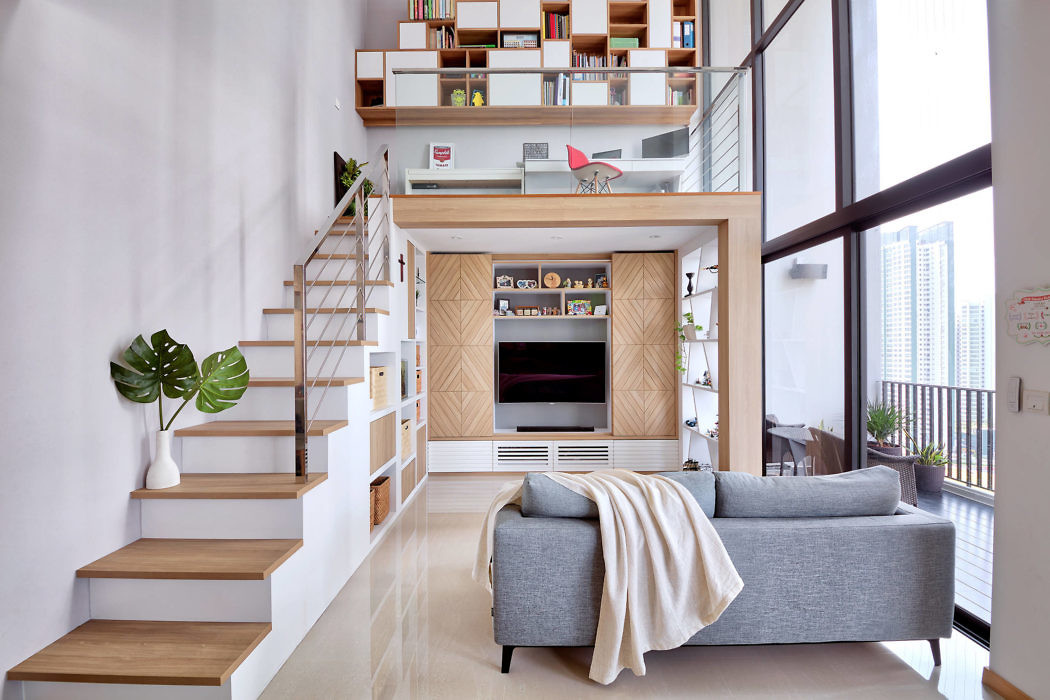 Triling Loft by Free Space Intent
