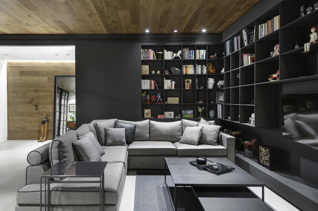 The Raw Apartment by Makridis Associates