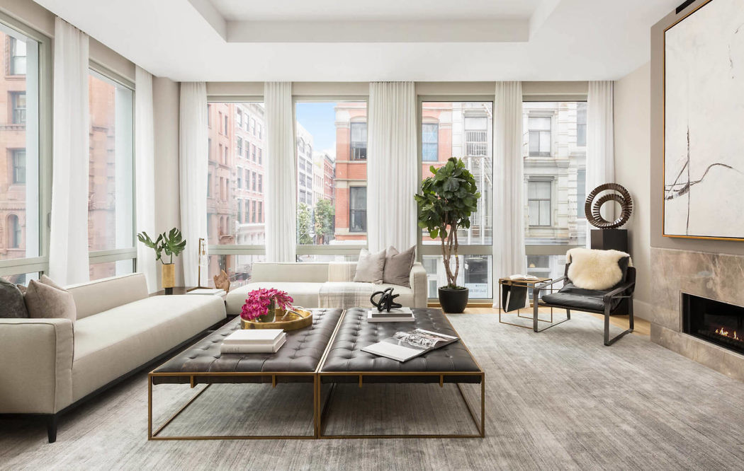 Apartment in New York by Interior Marketing Group
