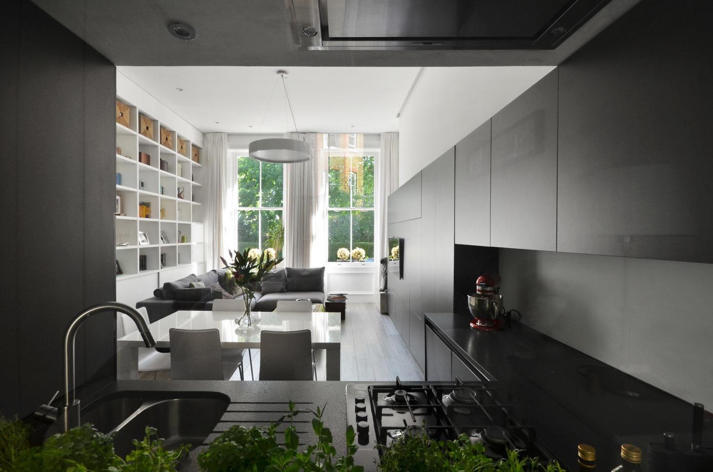 Nevern Square Apartment by Daniele Petteno Architecture Workshop