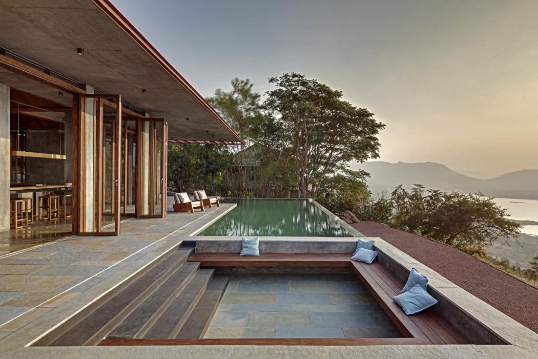 Retreat in the Sahyadris by Khosla Associates