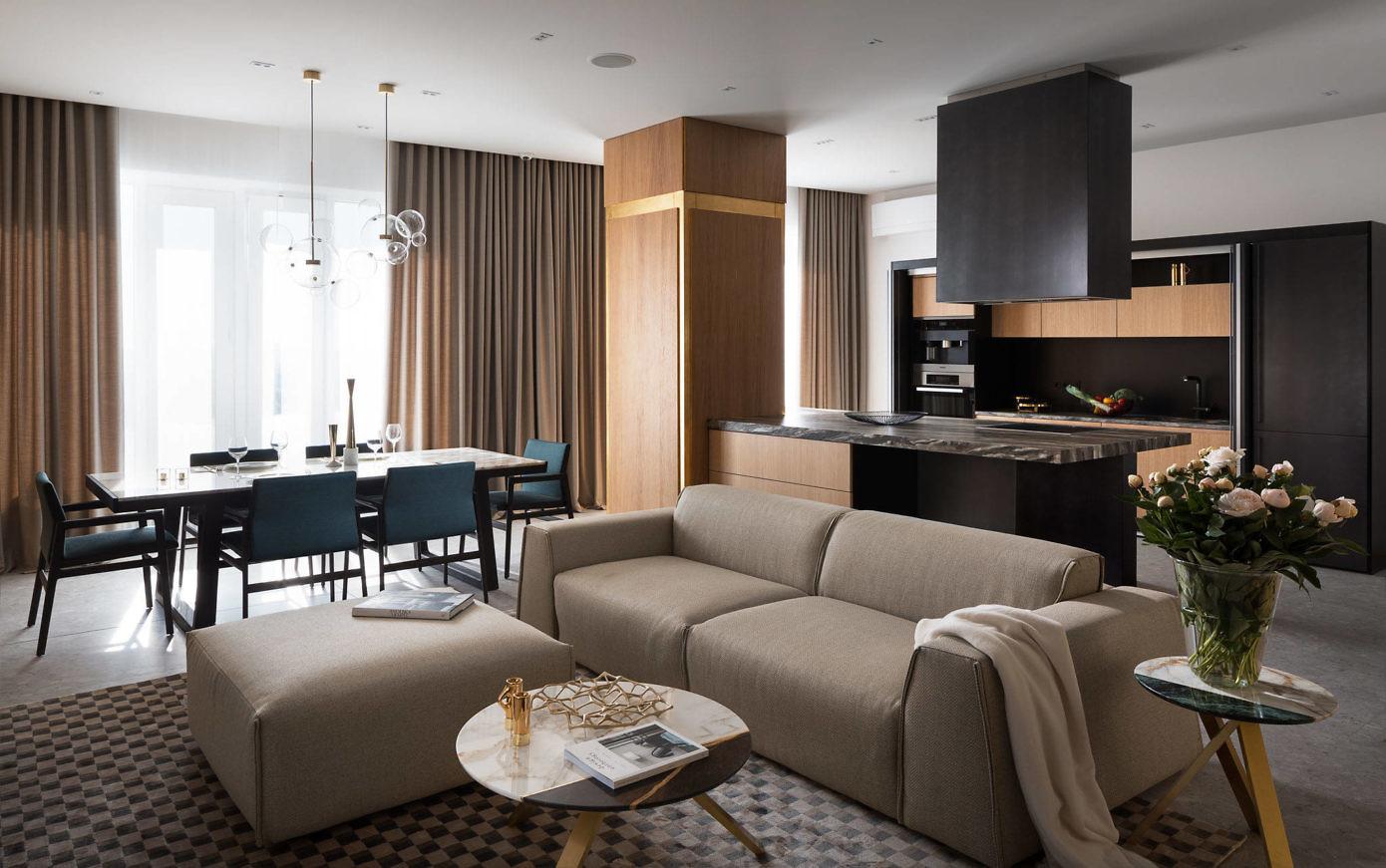 Apartment in Ukraine by Design Studio Zimenko Yuriy