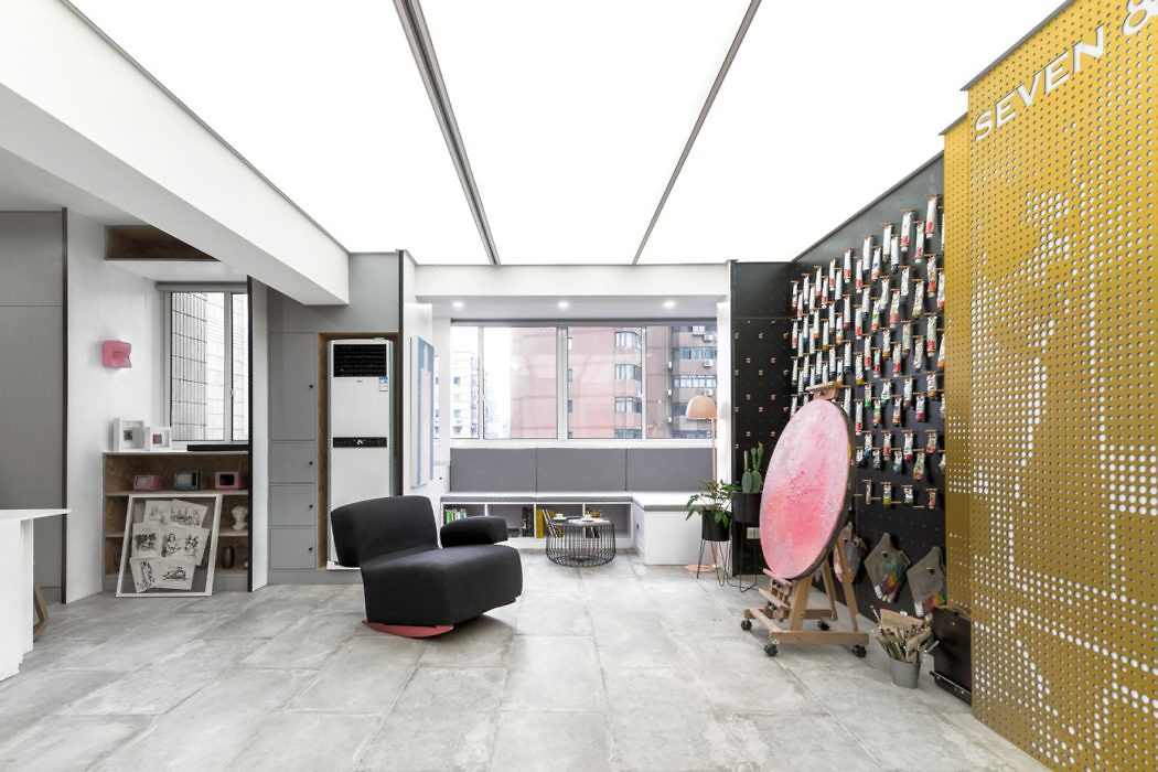 Apartment in Shanghai by Topos Design Clans