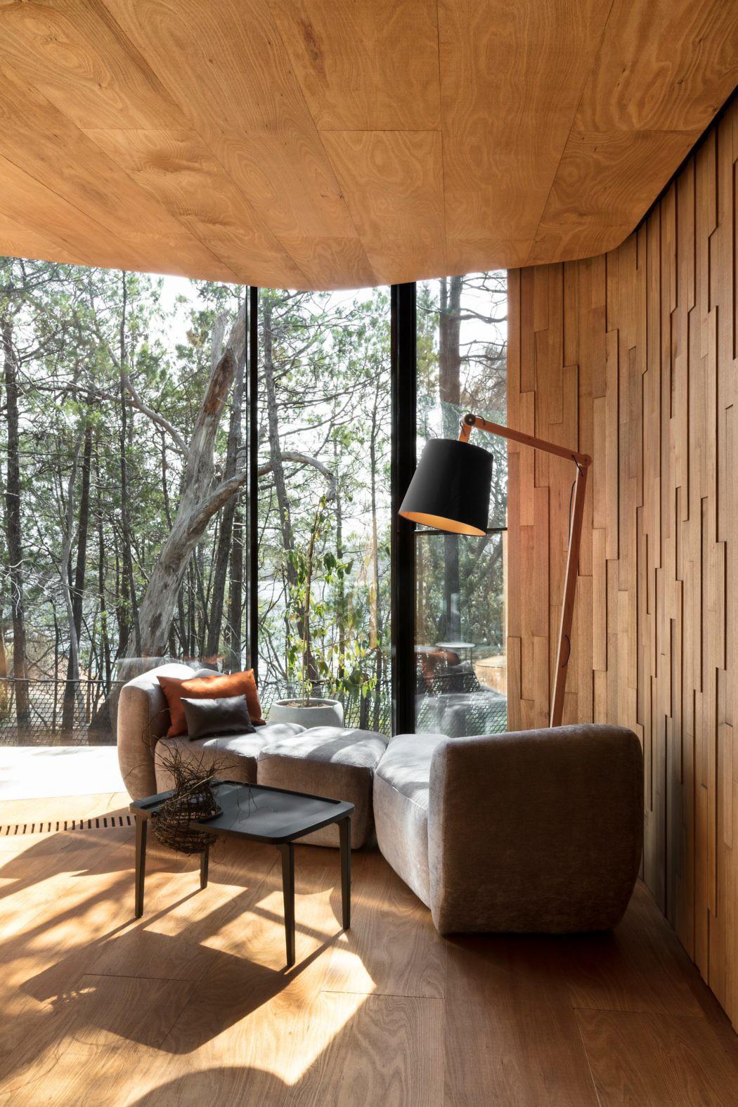 Coastal Pavilions by Liminal Studio