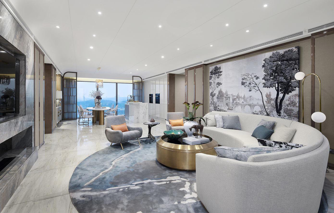 Luxurious Apartment by Shenzhen Qianxun Design