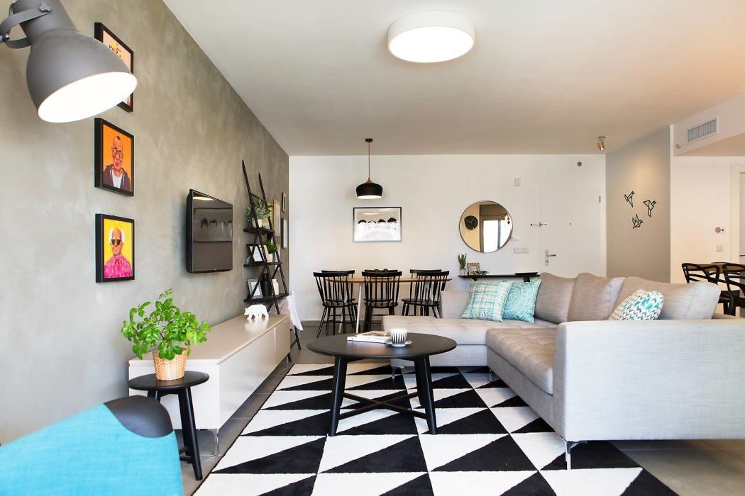 Apartment in Israel by Dana Shaked