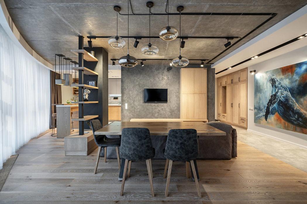 Familny Apartment by Za-Za Interior Design