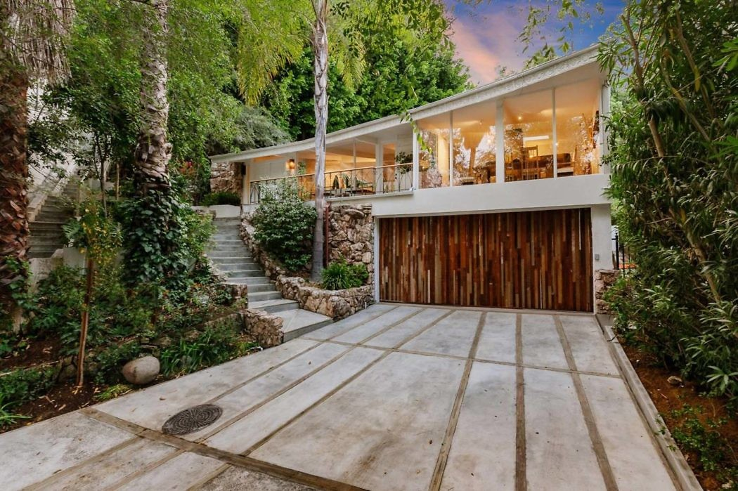 Mid-Century House in Beverly Hills