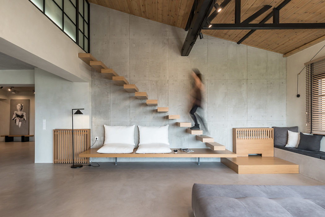 Rural Apartment by Normless