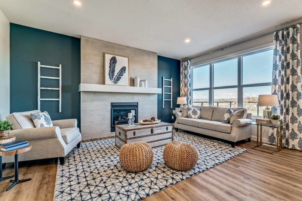 House in Okotoks by Trico Homes